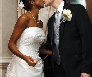 wedding, bwwm, and love image