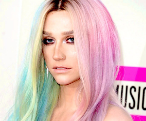 blue, hair, and kesha image