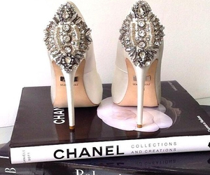 chanel, fashion, and high heels image