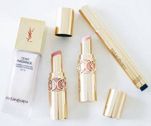 YSL, lipstick, and makeup image