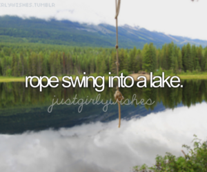 before i die, girly, and lake image