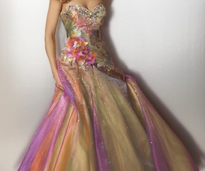 ball gown, fashion, and formal gowns image