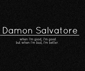damon salvatore, bad, and better image