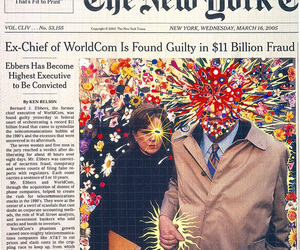 art, new york times, and newspaper image