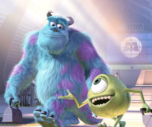 sullivan, monster inc, and mike wazowski image