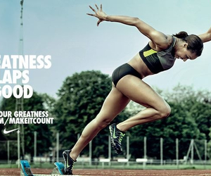 field, Just Do It, and motivation image