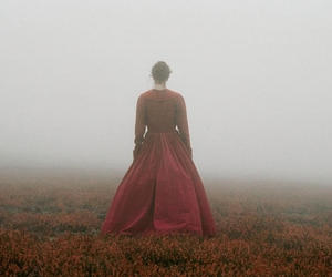 fog, girl, and movie image