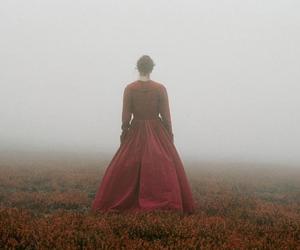 fog, girl, and mist image