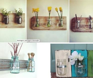 diy, deco, and flowers image