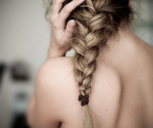 braid, girl, and cute image