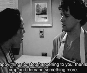 grey's anatomy, quotes, and george image