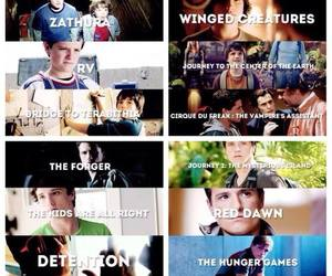 josh hutcherson, movies, and hunger games image