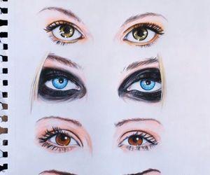 eyes, Taylor Momsen, and drawing image