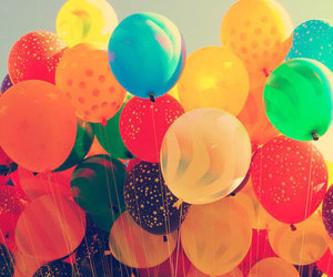 balloons, colors, and colorful image
