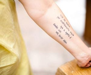 frase, quote, and tattoo image