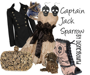 captain jack sparrow, fashion, and disneybound image
