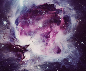 galaxy, space, and pink image