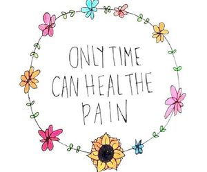 flowers, time, and pain image