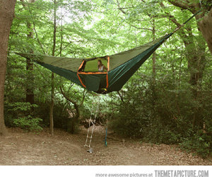 tent, funny, and nature image