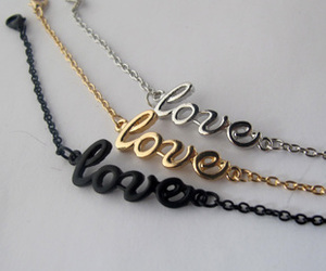 bracelet and love image