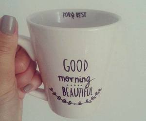 beautiful, cup, and good morning image
