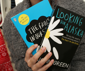 book, looking for alaska, and the fault in our stars image