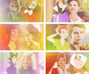disney, peter pan, and once upon a time image