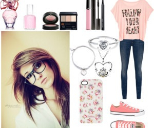 converse, cute, and makeup image