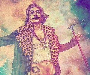 dali, hipster, and salvador dali image