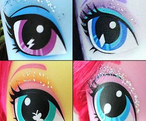 dolls, eyes, and MLP image