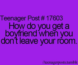 teenager post, boyfriend, and quote image