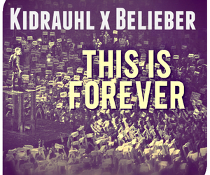 always, forever, and belieber image