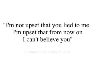 believe, lie, and quote image