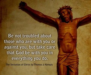 Catholic, jesus christ, and inspiration image