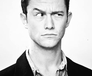 joseph gordon levitt, Joseph Gordon-Levitt, and black and white image