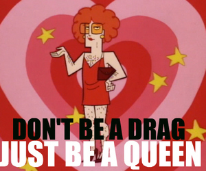 Queen, drag, and born this way image