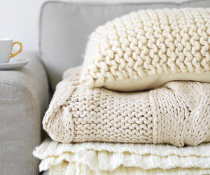 pillow and winter image