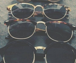 sunglasses, glasses, and vintage image