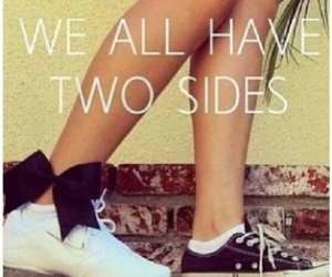 cheer, bow, and two sides image