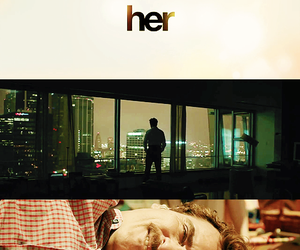 her, movie, and spike jonze image