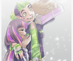 MLP, spike, and twighlight image