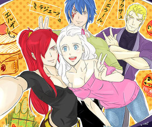 lol, erza, and fairy tail image