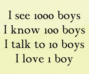 love, boy, and quote image