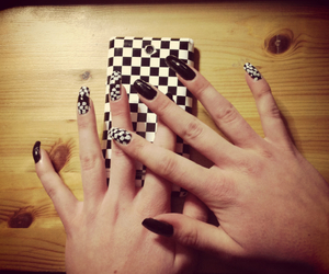hands, monster, and nails image