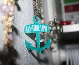 all time low, anchor, and necklace image