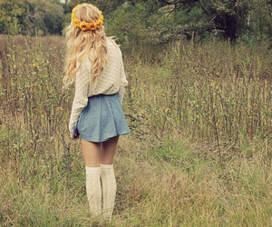 girl, cute, and alone image