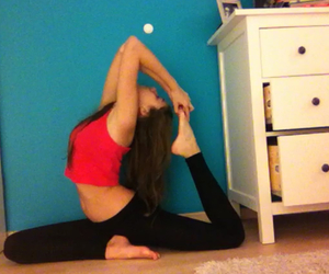 forever, sport, and yoga image