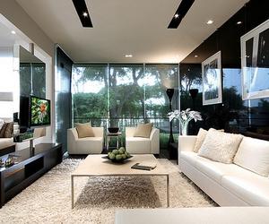 black&white, cozy, and luxury image