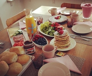 breakfast, delicious, and sweet image