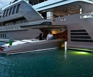 luxury, boat, and yacht image
